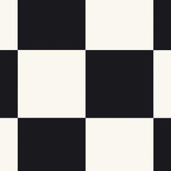 Heterogena plastgolv | Nordic Stabil |                                                          Square BLACK AND WHITE