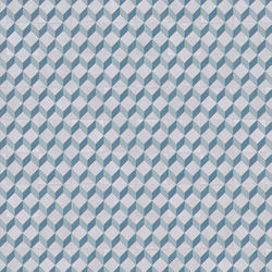 Vinyl Rolls | EXCLUSIVE 240 HAPPY SHAPES |                                                          Cube Tile BLUE