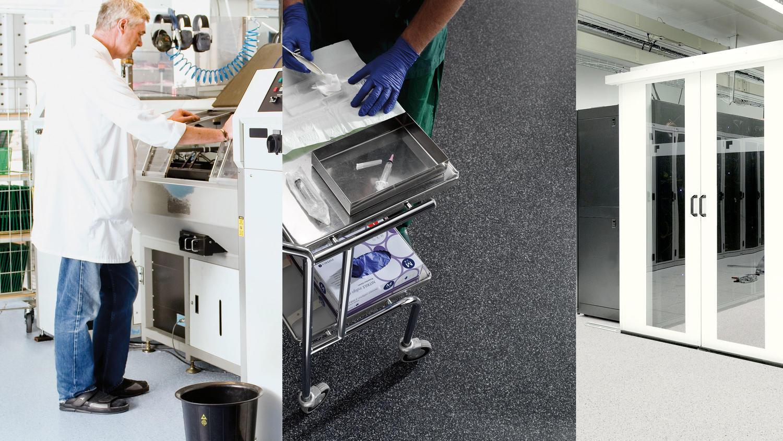 Om ESD-golv eller elektriskt avledande golvmaterial