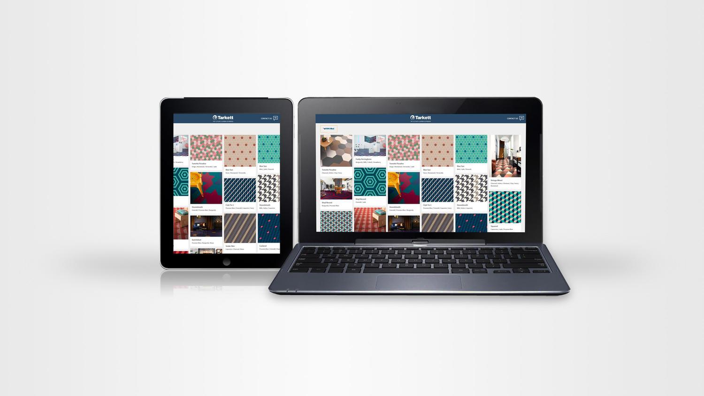 Mit dem iD Mixonomi Online-Konfigurator können Sie Ihr eigenes Bodenmuster aus 33 verschiedenen Farben und 7 Formen gestalten