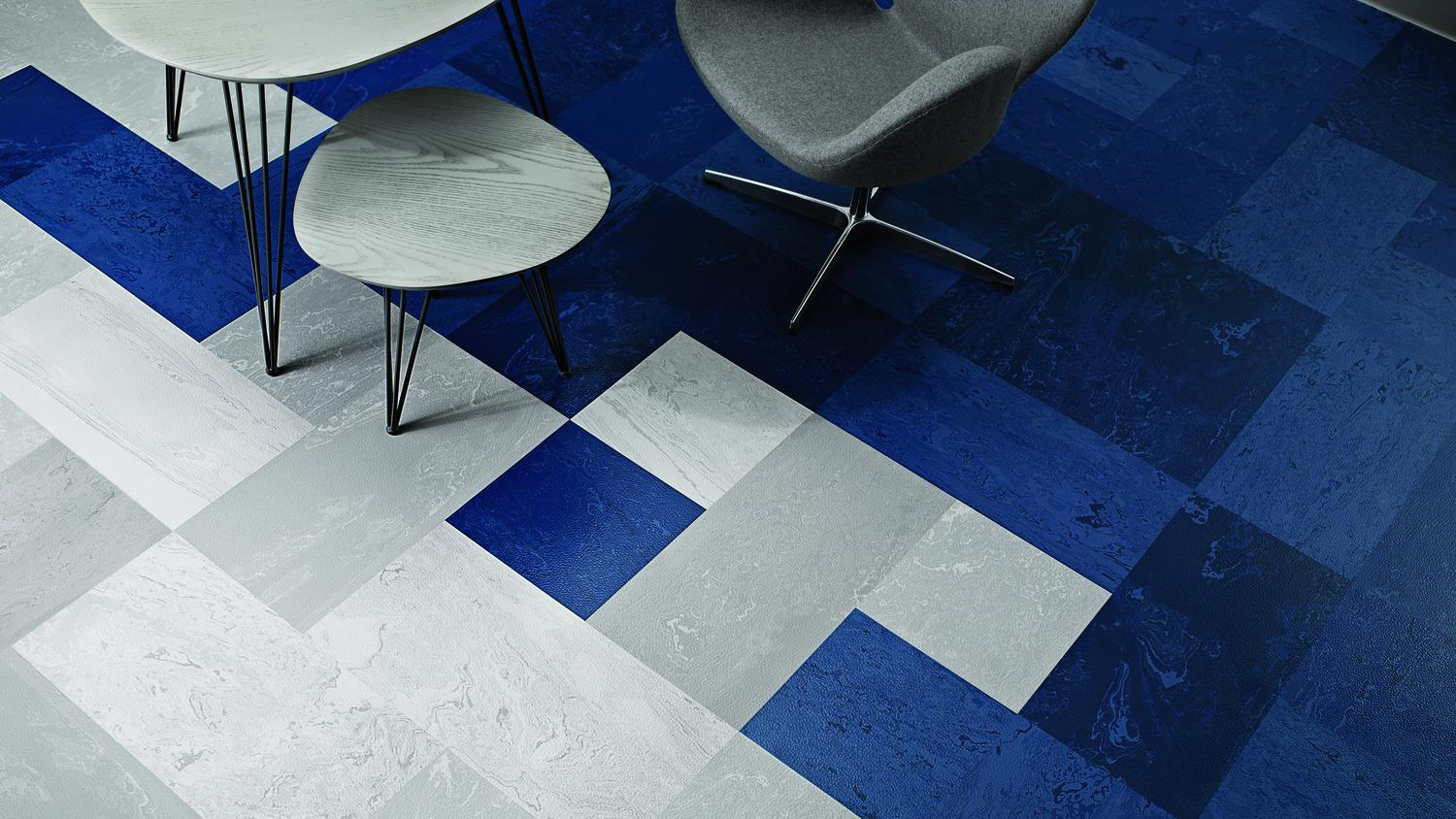 Rubber Mesto Configurations™ Tile | Tarkett