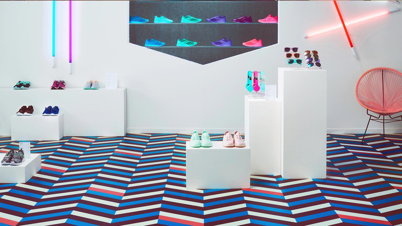 Den Red Dot - prisbelønnede iD Mixonomi kollektion er indbegrebet af Tarketts innovative tilgang til gulvbelægning