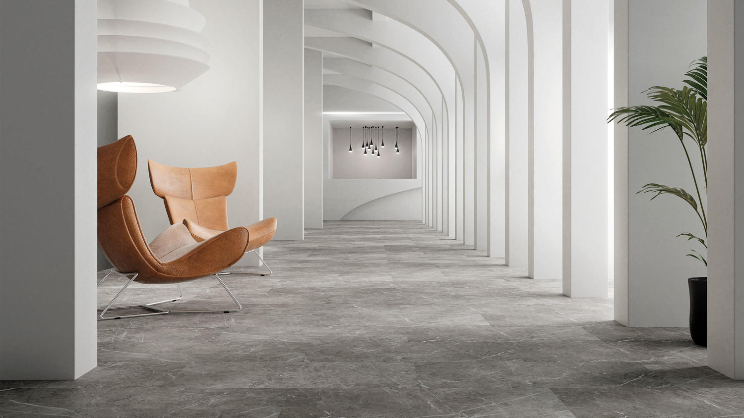 New Cement-based Mineral Tiles Stone and Wood Effect Collection Cementi Click