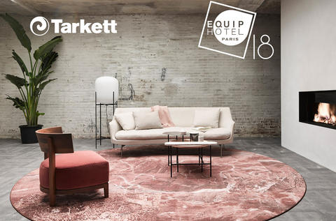 Tarkett participates in Equiphotel 2018, a professional trade fair for the Hotel Business in Paris