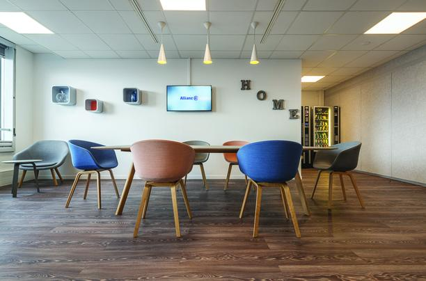 ALLIANZ'S NEW OFFICES TO IMPROVE COLLABORATION