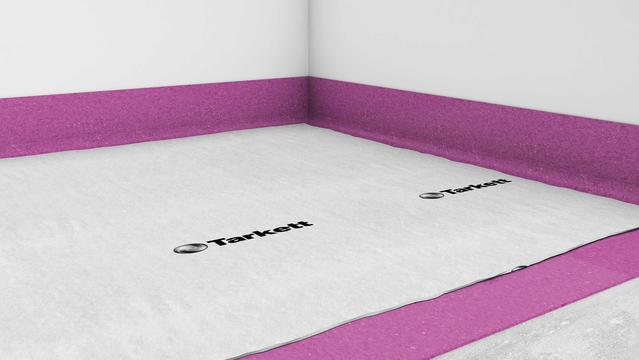 Floor protection overlayer