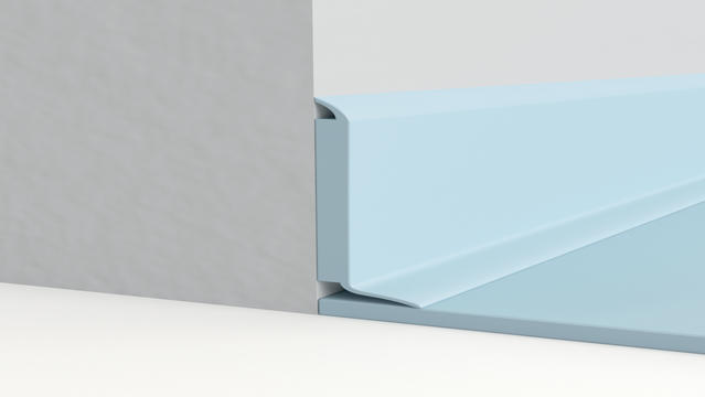 Semi-flexible decorative skirting
