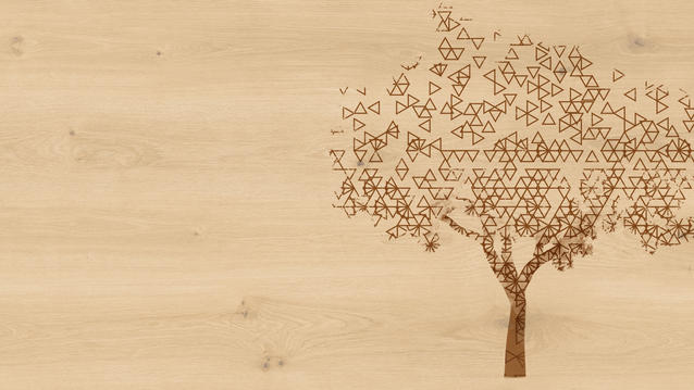 "iD Supernature & iD Tattoo personalisierbare ""Garden Oak"" Designboden-Kollektion mit Tattoo-Option"