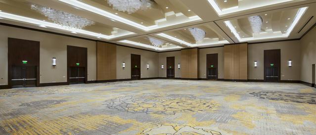 Convention area/ballroom