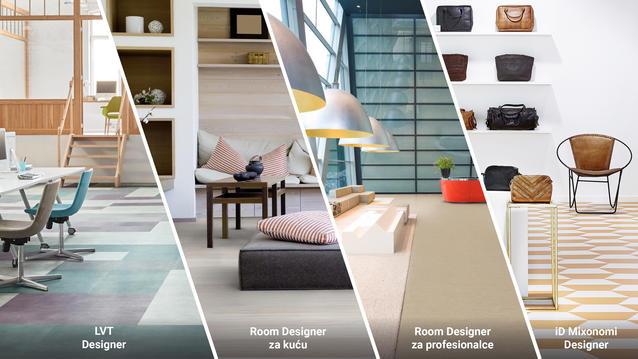 Room Designers - Prikaz poda u prostoru