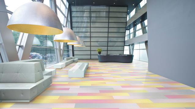 Custom LVT Commercial Flooring
