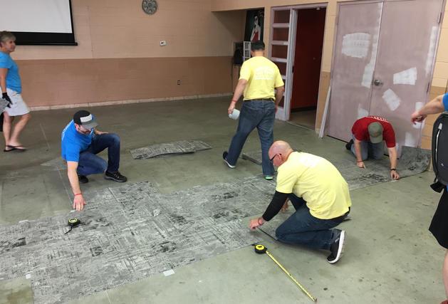 Tarkett Volunteer in New Orleans